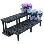 Greenhouse plant bench,step shelf plant bench,greenhouse plant benches