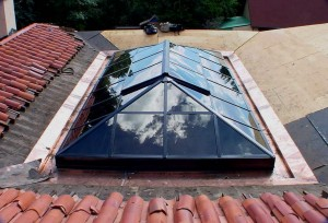 Greenhouse Solar Skylight