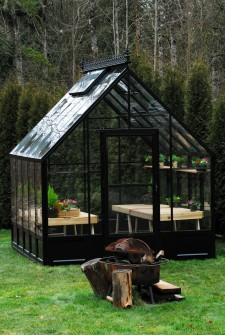 Parkside BC greenhouse kit front view