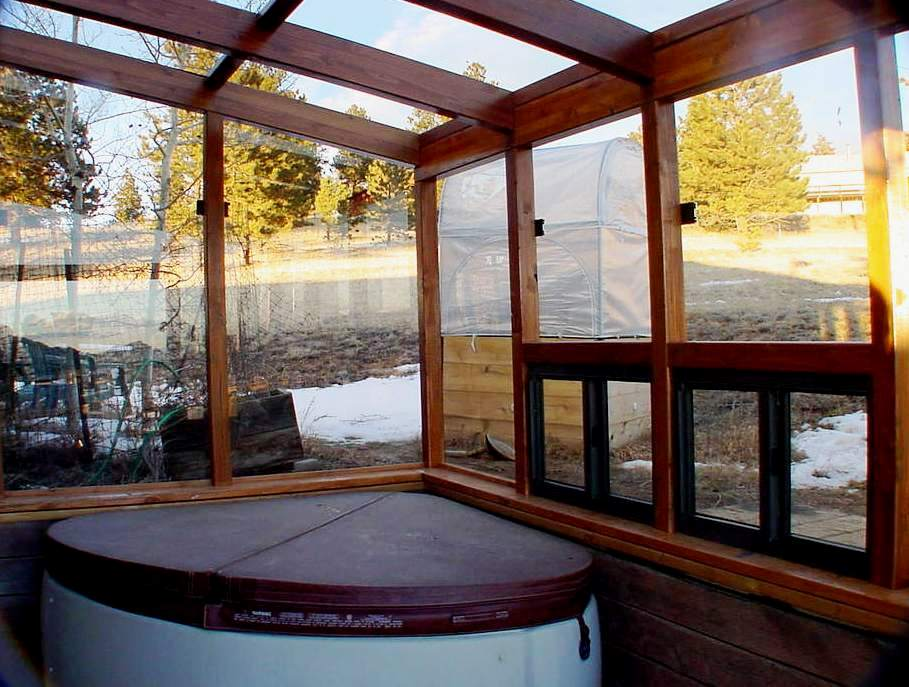 Sunroom Spa Enclosure Green Houses And Sunrooms